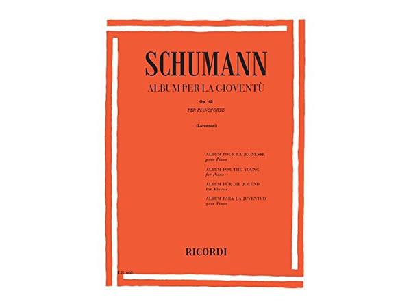 画像1: 楽譜 ALBUM PER LA GIOVENTU OP. 68 - SCHUMANN - RICORDI