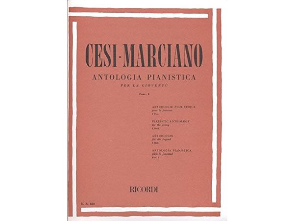 画像1: 楽譜 ANTOLOGIA PIANISTICA PER LA GIOVENTU - FASC. I - CESI - MARCIANO - RICORDI