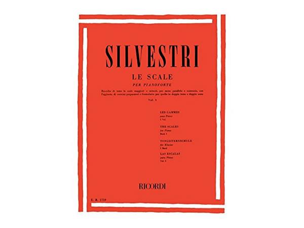 画像1: 楽譜 LE SCALE PER PIANOFORTE - SILVESTRI - RICORDI