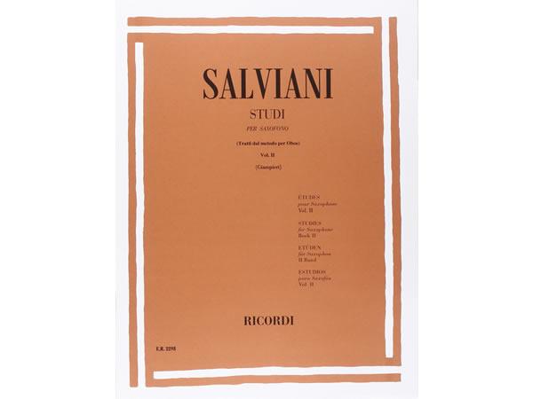 画像1: 楽譜 STUDI PER SAXOFONO (TRATTI DAL METODO PER OBOE) - SALVIANI - RICORDI