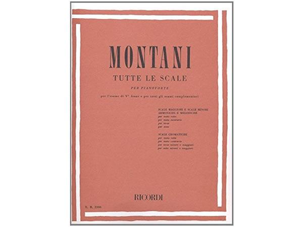 画像1: 楽譜 TUTTE LE SCALE - MONTANI - RICORDI