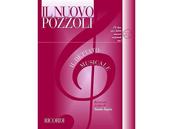 画像1: IL NUOVO POZZOLI IL DETTATO MUSICAL ( METODO + CD ) - RICORDI