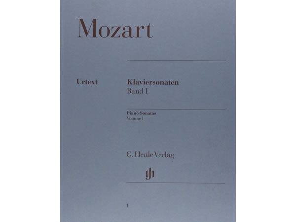 画像1: 楽譜 Klaviersonaten Band 1 - MOZART
