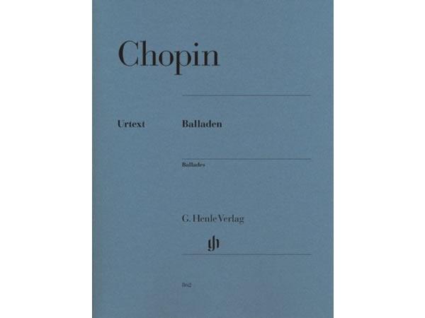 画像1: 楽譜 Balladen - CHOPIN