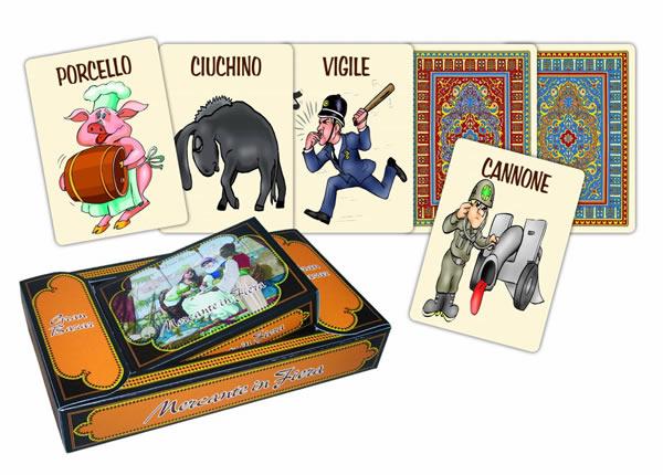 画像1: MODIANO イタリアのゲーム「メルカンテ・ディ・フィエラ」用トランプ  【カラー・マルチ】