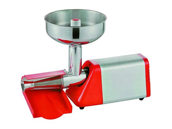 画像1: トマトソース製造用電動トマト搾汁機