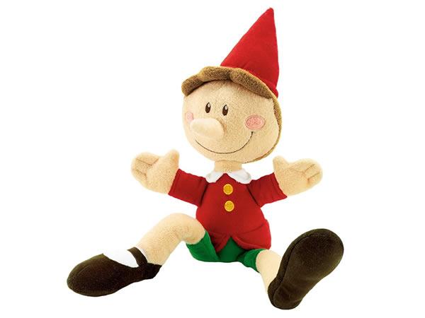 画像1: イタリア ピノッキオの人形 ピノキオ スモール【カラー・レッド】【カラー・グリーン】