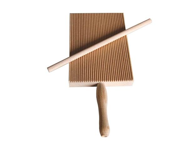 画像1: 手打ちパスタ用 ガルガネッリ用麺棒・ニョッキメーカー