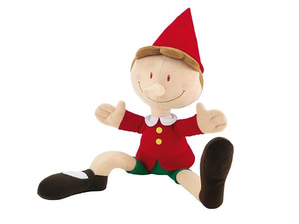 画像1: イタリア ピノッキオの人形 ピノキオ ジャンボ【カラー・レッド】【カラー・グリーン】