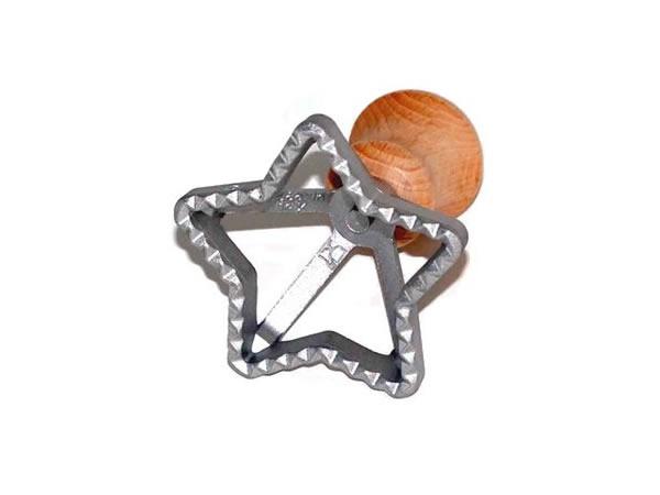 画像1: 【セール・限定1】手打ちパスタ用 ラビオリ用型 星型 スタンプタイプ 径 7 cm