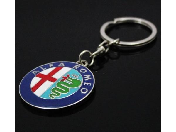 画像1: イタリア キーホルダー Alfa Romeo 【カラー・ブルー】