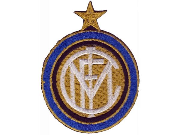 画像1: イタリア 刺繍ワッペン INTER  【カラー・ホワイト】【カラー・ブラック】【カラー・ブルー】【カラー・イエロー】