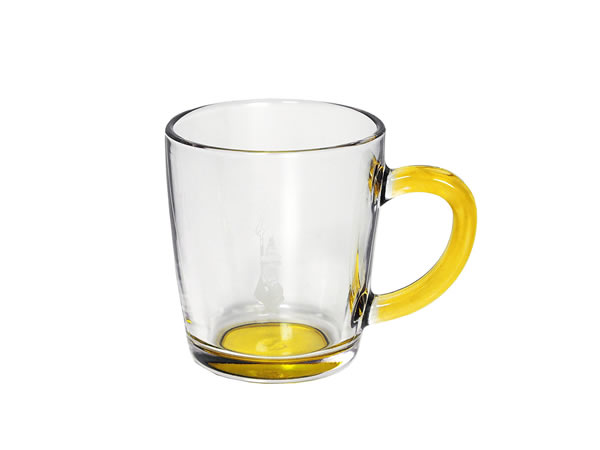 画像1: 耐熱ガラス マグカップ 1客 Bialetti(ビアレッティ)【カラー・イエロー】