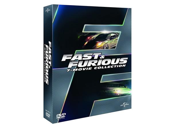 画像1: イタリア語などで観る映画 ポール・ウォーカーの「ワイルド・スピードシリーズ」 DVD 7枚組  【B1】【B2】