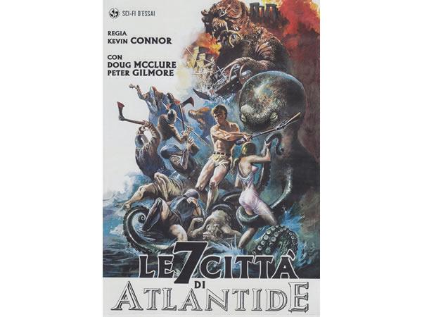 画像1: イタリア語などで観る映画 ケヴィン・コナーの「アトランティス7つの海底都市」 DVD  【B1】【B2】