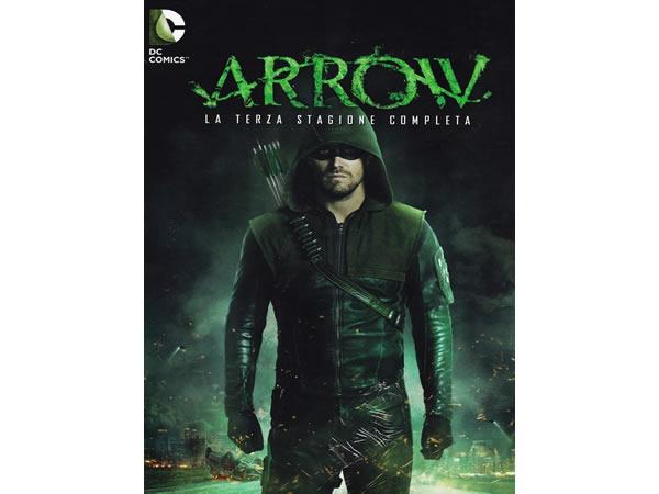 画像1: イタリア語などで観る スティーヴン・アメルの「ARROW/アロー  シーズン3」 DVD 5枚組  【B2】【C1】