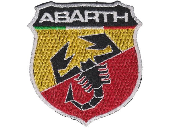 画像1: イタリア 刺繍ワッペン ABARTH 【カラー・イエロー】【カラー・レッド】