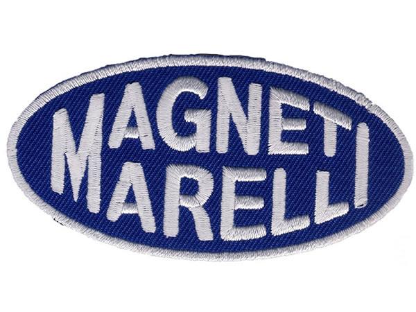 画像1: イタリア 刺繍ワッペン MAGNETI MORELLI【カラー・ホワイト】【カラー・ ブルー】