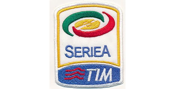 画像1: イタリア 刺繍ワッペン SERIE A TIM 【カラー・イエロー】【カラー・ホワイト】【カラー・レッド】【カラー・グリーン】【カラー・ブルー】