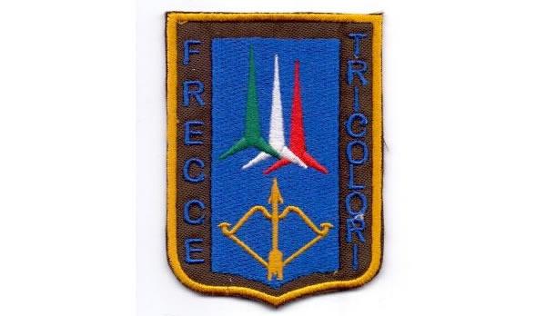 画像1: イタリア 刺繍ワッペン FRECCE TRICOLORI 【カラー・ブルー】【カラー・イエロー】【カラー・レッド】【カラー・グリーン】