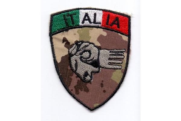 画像1: イタリア 刺繍ワッペン イタリア国旗 【カラー・ホワイト】【カラー・レッド】【カラー・グリーン】