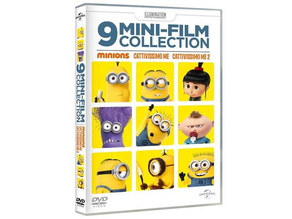 画像1: イタリア語などで観る「ミニオンズ 9ミニ・ムービー・コレクション」 DVD【A1】【A2】【B1】【B2】