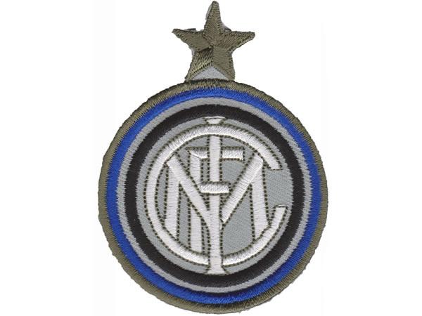 画像1: イタリア 刺繍ワッペン INTER  【カラー・ホワイト】【カラー・ブラック】【カラー・ブルー】