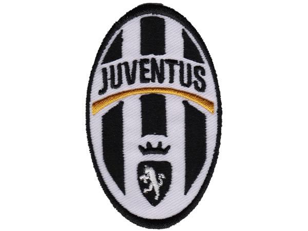 画像1: イタリア 刺繍ワッペン JUVENTUS  【カラー・ホワイト】【カラー・ブラック】