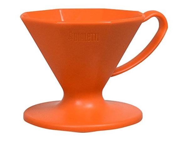 画像1: プラスチック製コーヒードリッパー Bialetti(ビアレッティ)【カラー・オレンジ】