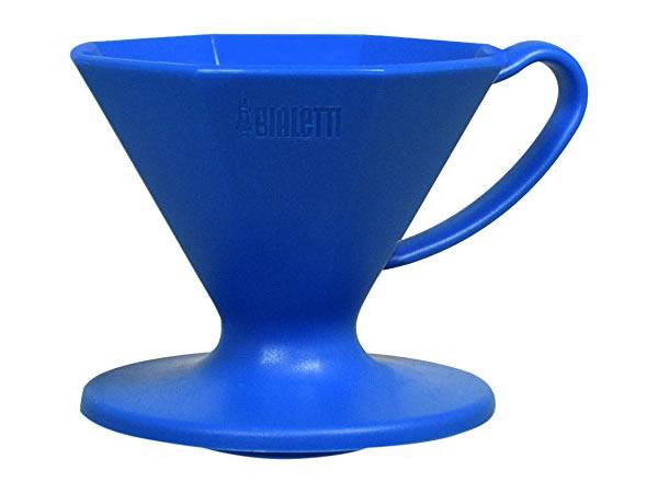 画像1: プラスチック製コーヒードリッパー Bialetti(ビアレッティ)【カラー・ブルー】