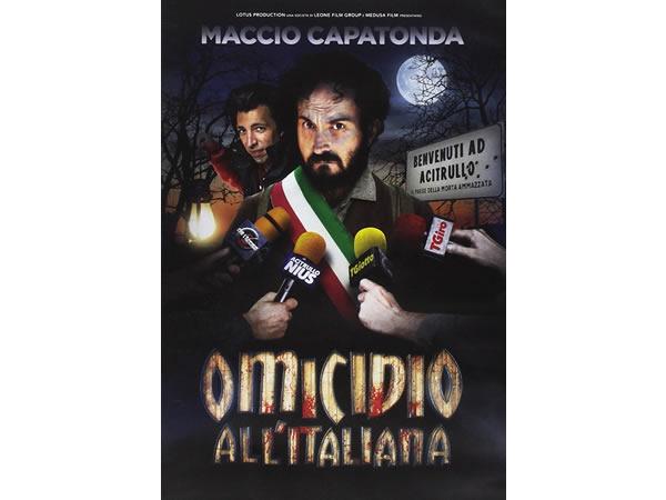 画像1: イタリア語で観るイタリア映画 Maccio Capatondaの「Omicidio all'italiana」 DVD  【B1】【B2】