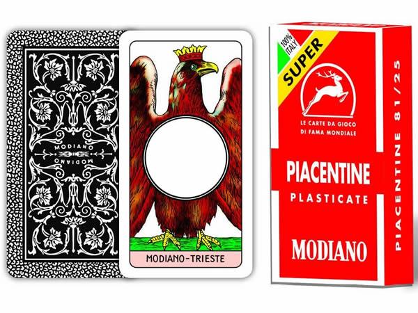 画像1: MODIANO ピアツェンツァ・トランプ Piacentine 81/25 300051 【カラー・マルチ】
