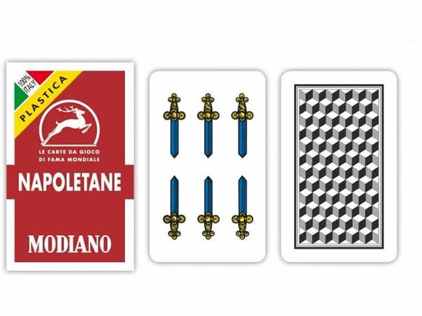 画像1: MODIANO ナポリタン・トランプ Napoletane 300157 【カラー・マルチ】