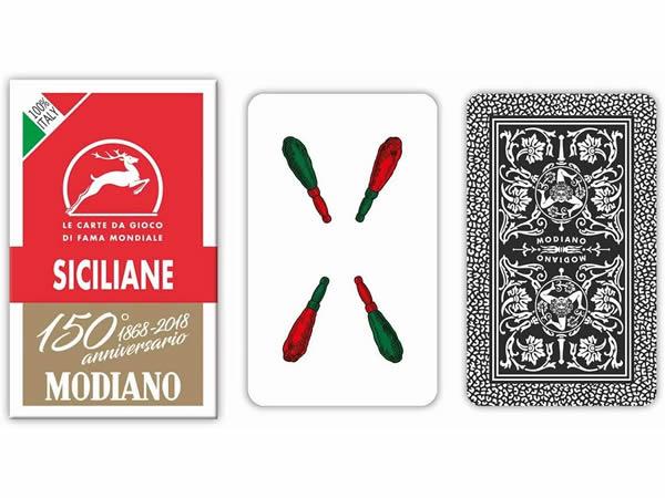 画像1: MODIANO シチリアーノ・トランプ Siciliane 300083 【カラー・マルチ】