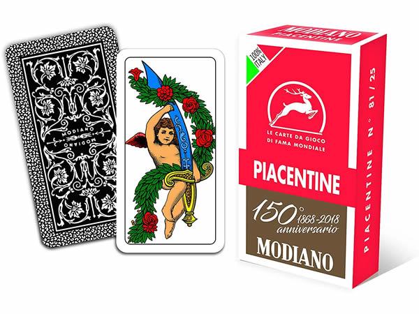 画像1: MODIANO ピアツェンツァ・トランプ Piacentine 300084 【カラー・マルチ】