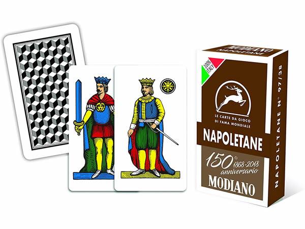 画像1: MODIANO ナポリタン・トランプ Napoletane 300082 【カラー・マルチ】