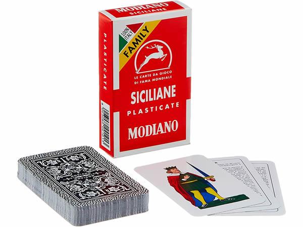 画像1: MODIANO シチリアーノ・トランプ Siciliane 300101 【カラー・マルチ】
