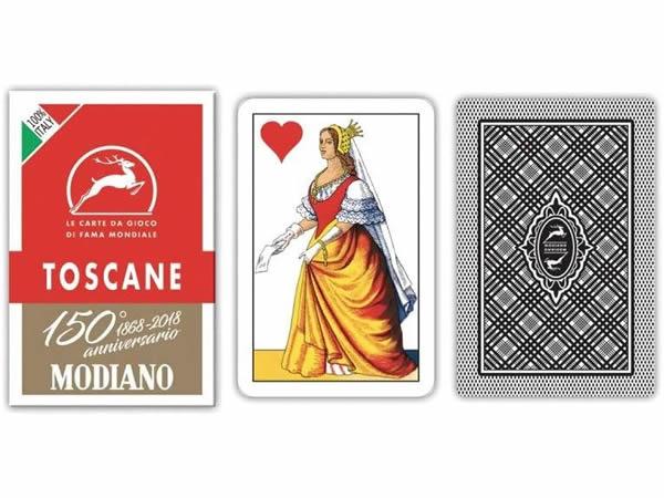画像1: MODIANO トスカーナ・トランプ Toscane 300119 【カラー・マルチ】