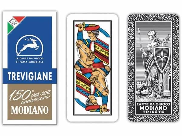 画像1: MODIANO トレヴィーゾ・トランプ Trevigiane 300139 【カラー・マルチ】