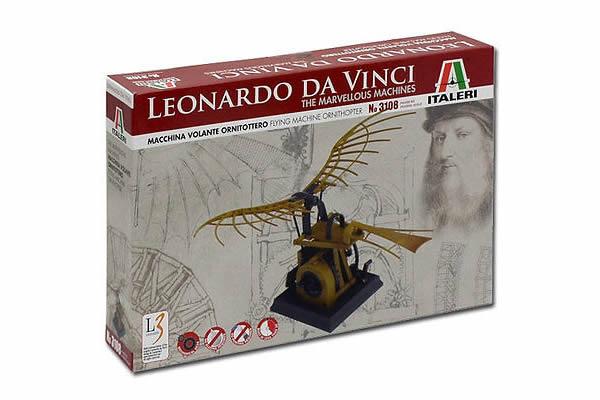 画像2: Italeri 羽ばたき飛行機模型 レオナルド・ダ・ヴィンチ【カラー・ブラウン】