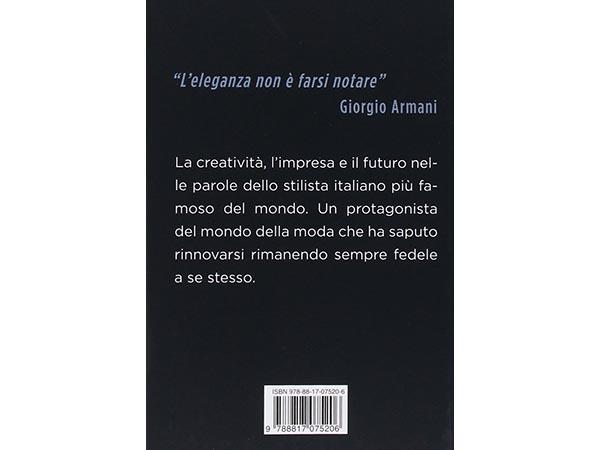 画像2: イタリア語で読む、ジョルジオ・アルマーニの I cretini non sono mai eleganti. Giorgio Armani in parole sue 【B2】【C1】