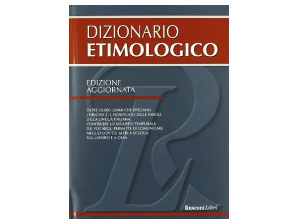 画像1: イタリア語 語源辞書 【A1】【A2】【B1】【B2】【C1】【C2】