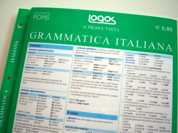 画像2: こういうのが欲しかった!イタリア語文法一覧 【A1】【A2】【B1】【B2】