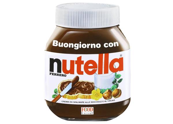 画像1: ボンジョルノ イタリア語で作るヌテッラを使った簡単レシピ【B2】