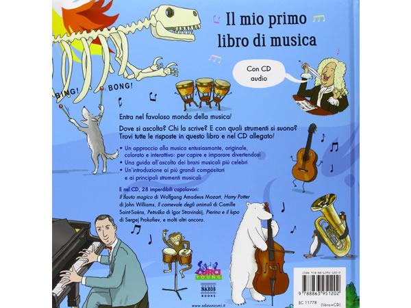 画像2: イタリア語で読む、絵本 CD付き初めての音楽 【A1】