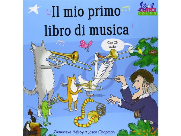 画像1: イタリア語で読む、絵本 CD付き初めての音楽 【A1】