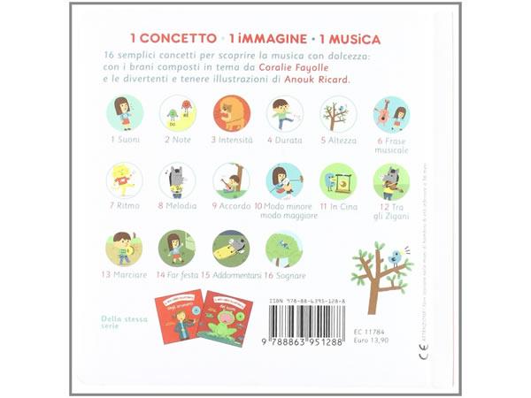 画像2: イタリア語で読む、CD付き音楽イラストブック【A1】