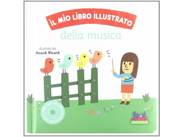 画像1: イタリア語で読む、CD付き音楽イラストブック【A1】