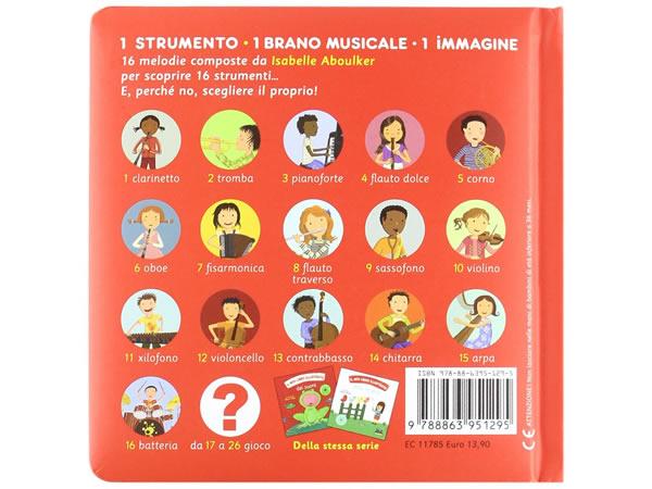 画像2: イタリア語で読む、絵本 CD付き初めての楽器【A1】