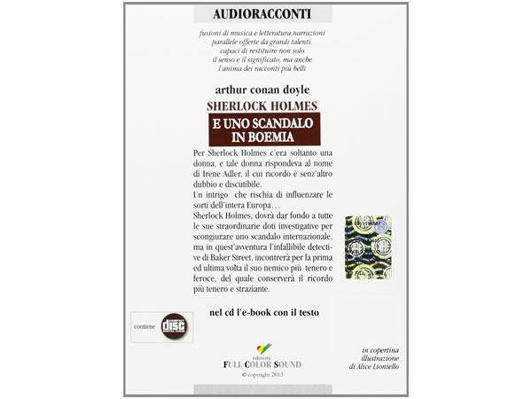 画像2: CD オーディオブック アーサー・コナン・ドイル  シャーロック・ホームズシリーズ  ボヘミアの醜聞【B2】【C1】